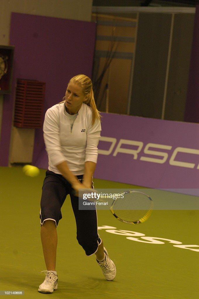 Open Tennis 'Sony Ericsson', Alona Bondarenko, UKR, 5th september 2009, 'Caja Magica', Madrid, Spain.
