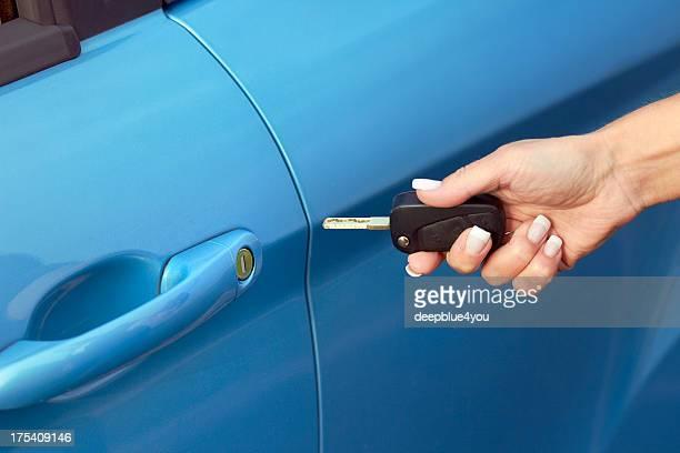 open the car