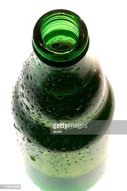Extremo abierto de botella de cerveza, ACCESO CON CLAVE