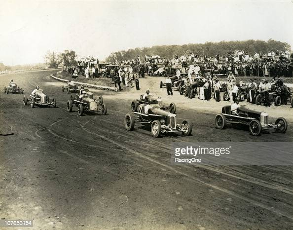 Open wheel racing action at Langhorne Speedway Indy ÒBig CarsÓ and Sprint Cars ruled the onemile oval for nearly 20 years before the track held its...