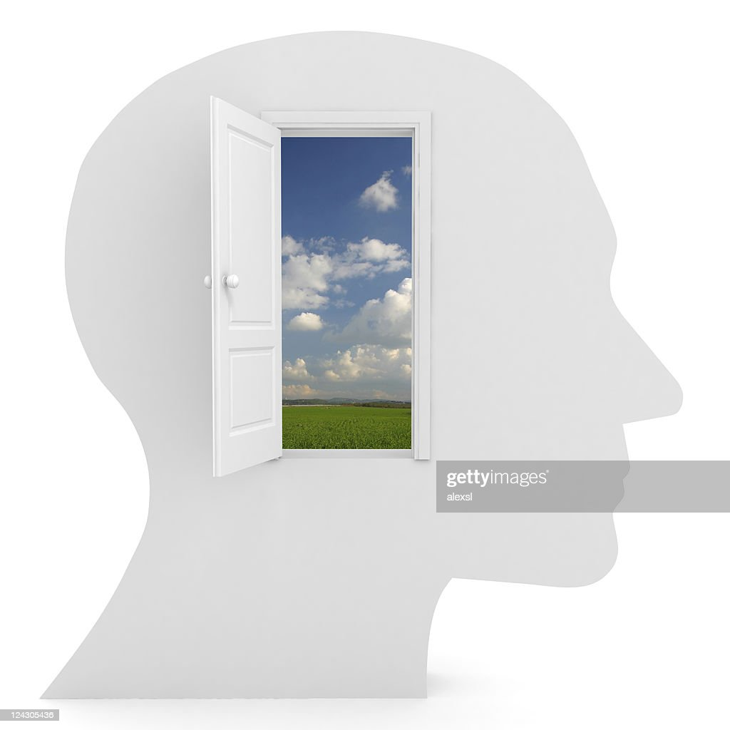 Open Your Mind : Stock Photo
