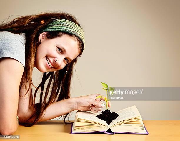Apri la mente per la crescita e conoscenze con i libri