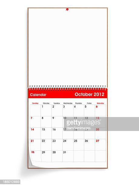 Inaugurado Calendario de pared-de octubre de 2012
