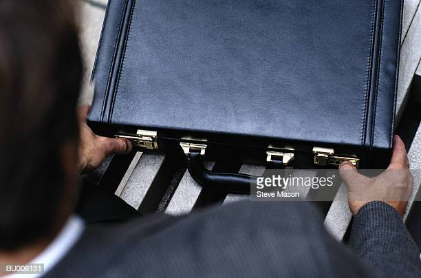 Opening Briefcase