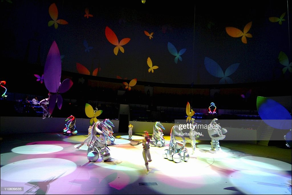 Opening Ceremony For The Toyota Group Pavilion At The 2005 World Exposition In Nagoya Aichi Japan On March 10 2005
