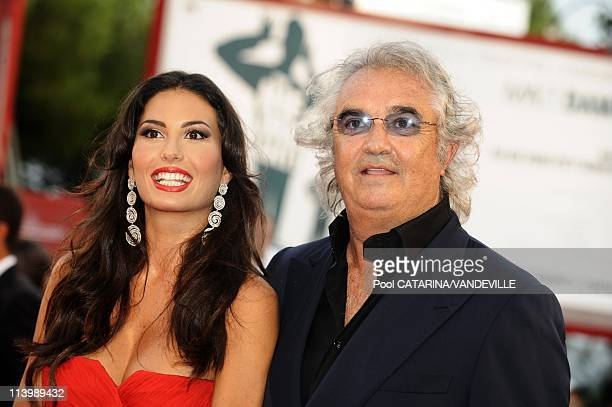 Opening ceremony of the 66th Venice Film Festival in Venice Italy On September 02 2009Elisabetta Gregoraci and Flavio Briatore at the Opening...