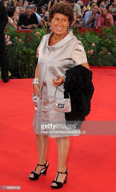 Opening ceremony of the 66th Venice Film Festival in Venice Italy On September 02 2009Carla Fendi at the Opening ceremony of the 66th Venice Film...