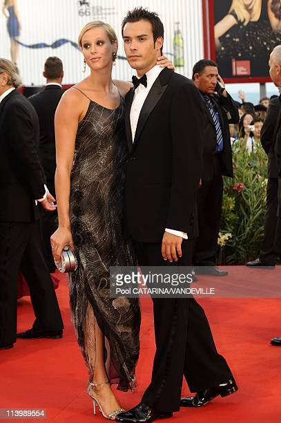 Opening ceremony of the 66th Venice Film Festival in Venice Italy On September 02 2009Italian swimmer world champion Federica Pellegrini and his...