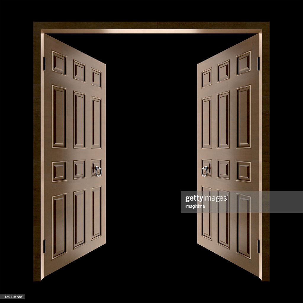 Opening Doors (Isolated with Clipping Path) & Opening The Door Of Hope Stock Photos and Pictures | Getty Images Pezcame.Com