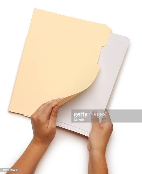 Opening File Folder