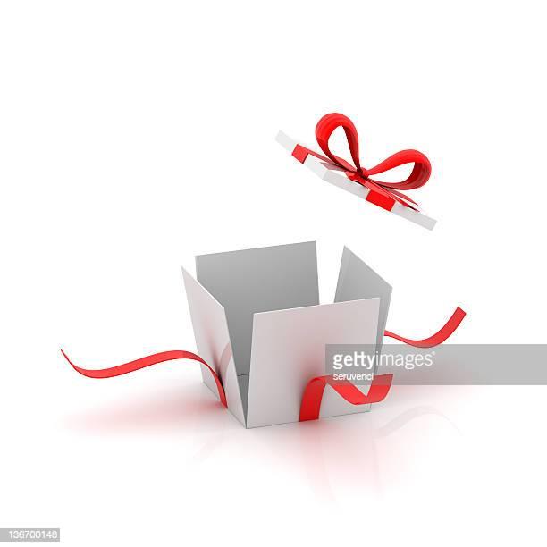 Apertura scatola regalo