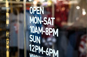 Opening hours information