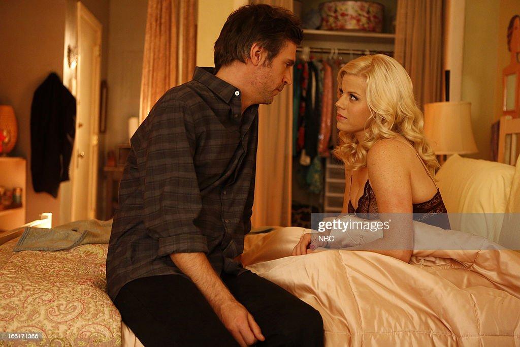 SMASH 'Opening Night' Episode 212 Pictured Jack Davenport as Derek Wills Megan Hilty as Ivy Lynn