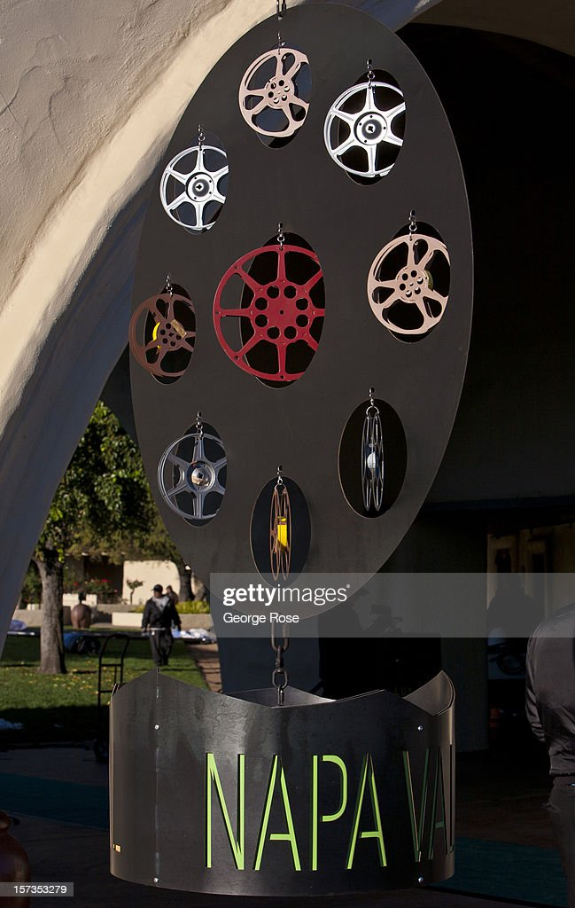 Opening night festivities for the Napa Valley Film Festival are held at Robert Mondavi Winery on November 9 near Rutherford California Excellent...