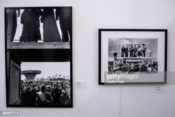 Opening of exhibition with photos by Swedish photographer Lennart Nilsson famous internationally for pictures of embryo and fetus in the 1960s Huge...