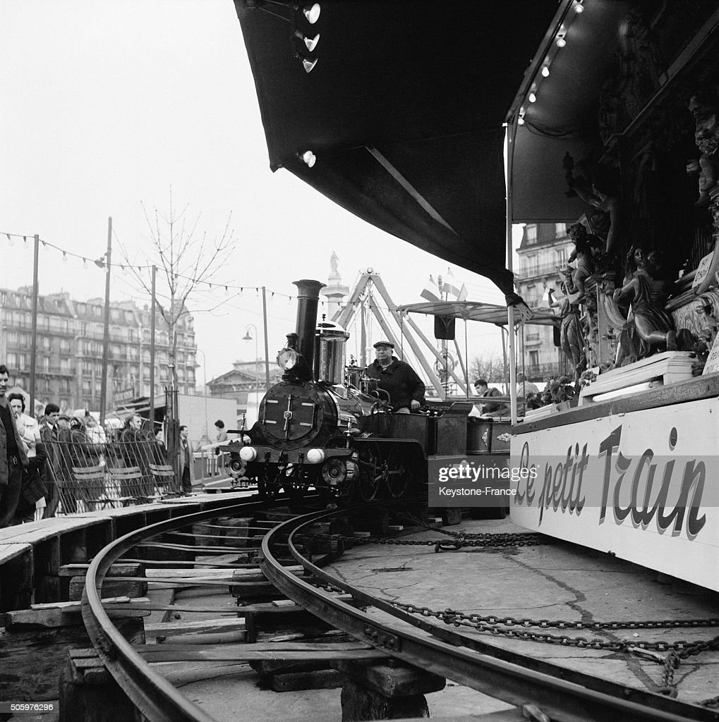 Opening Of The 1006th Foire Du Trône For The Last Time On The Place De La Nation, in Paris, France, on April 6, 1963.