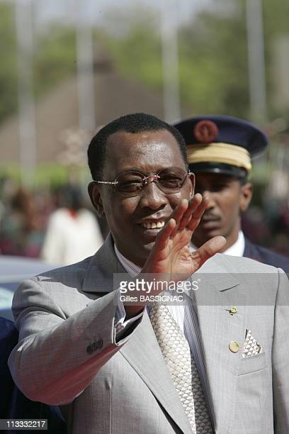 Opening Of The 23Rd AfricanFrench Summit On December 3Rd 2005 In Bamako Mali Here Idriss Deby President Of Tchad