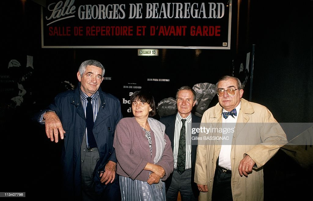 Opening Of The Cinema G - De Beauregard On April 12th, 1988 In Paris,France