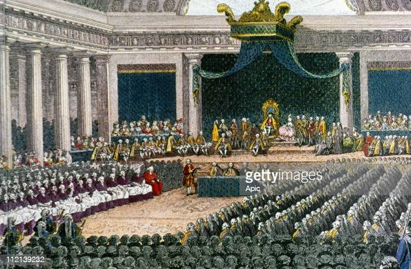 meeting of the estate general picture In france under the old regime, the estates general (french:  (with each of the three estates meeting separately) its own structure rather than the nation's finances.