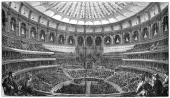 Opening of the Royal Albert Hall London 29 March 1871 Concert hall erected by Queen Victoria in memory of her husband Prince Albert who died at the...
