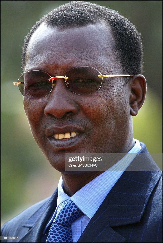 Opening Of The Xth French Speaking Summit, Arrival Of The Heads Of States . On November 26, 2004 In Ouagadougou, Burkina Faso. President <a gi-track='captionPersonalityLinkClicked' href=/galleries/search?phrase=Idriss+Deby&family=editorial&specificpeople=4605749 ng-click='$event.stopPropagation()'>Idriss Deby</a>, Tchad
