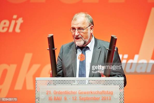 Opening speech of Klaus Wiesehuegel the chairman of the IG BAU at the 21st Annual Trade Union Congress of the IG BAU in Berlin From 9 to 12 September...