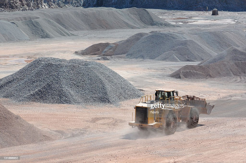 Open-pit Mine with Earth Mover