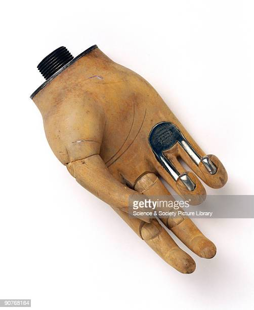 �Openshaw� wooden artificial hand designed by Thomas Openshaw a surgeon at Queen Mary's Hospital Roehampton during World War I A special feature of...