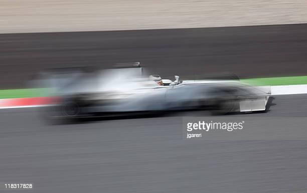 Abierto-rueda de coche de carreras