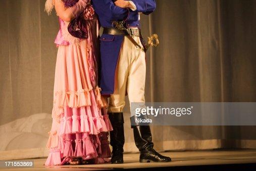 Oper auf der Bühne