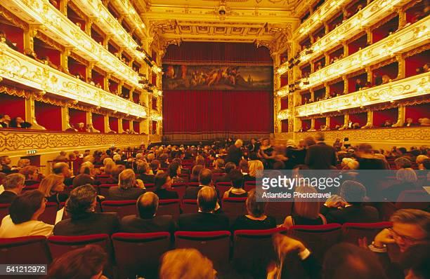 Opera Audience in Teatro Regio di Parma