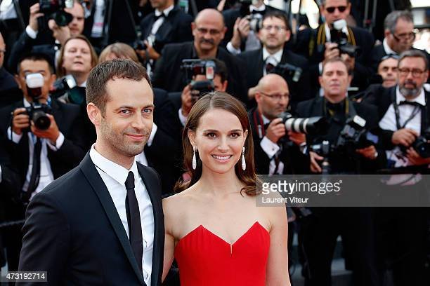 Opera Dance Director Benjamin Millepied and Actresss Natalie Portman attends the opening ceremony and 'La Tete Haute' premiere during the 68th annual...
