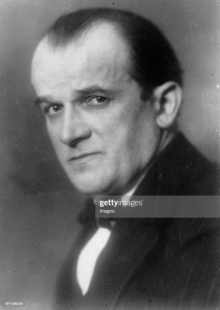 Opera director (Kroll Opera) Ernst Legal. Germany. Photograph. About 1930. (Photo by Imagno/Getty Images) Opernintendant (Kroll Oper) Ernst Legal. Deutschland. Photographie. Um 1930.