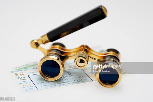 Opera Glasses and Admission Tickets