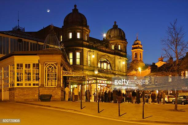 Opera House Buxton Derbyshire 2010 Designed by the famous theatre architect Frank Matcham the opera house in the Peak District spa town of Buxton...
