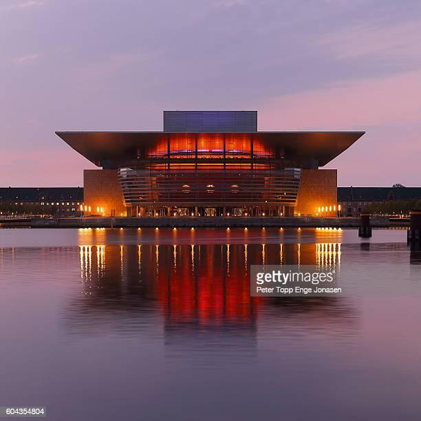 Opera house in Copenhagen morning light