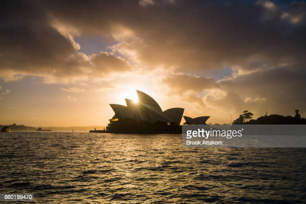 Opera House with Silhouette.