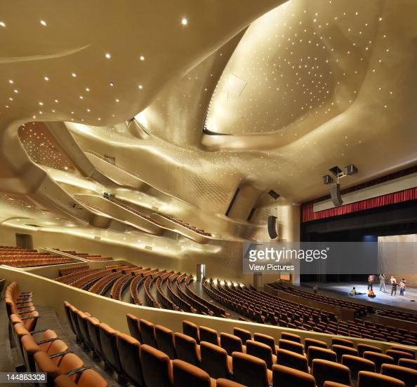 Zaha Hadid Guangzhou Opera House Zaha Hadid Architects Guangzhou China Main Auditorium