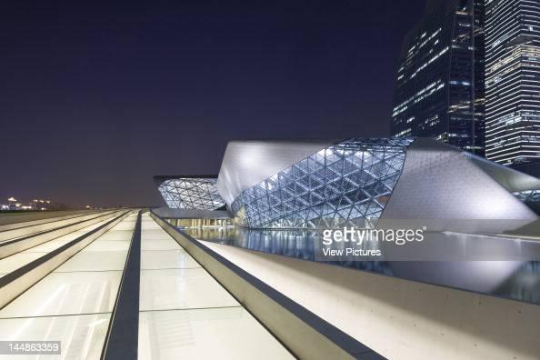 Zaha Hadid Guangzhou Opera House Zaha Hadid Architects Guangzhou China 2011