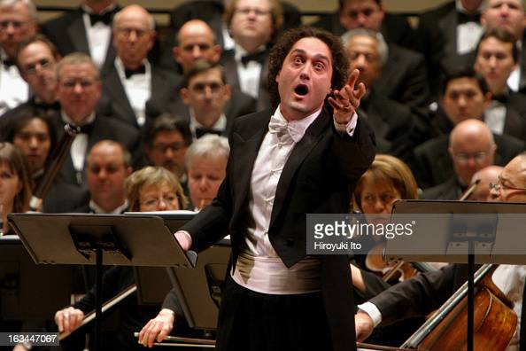 Opera Orchestra of New York performing Francesco Cilea's 'L'Arlesiana' at Carnegie Hall on Wednesday night February 21 2007This imageThe tenor...