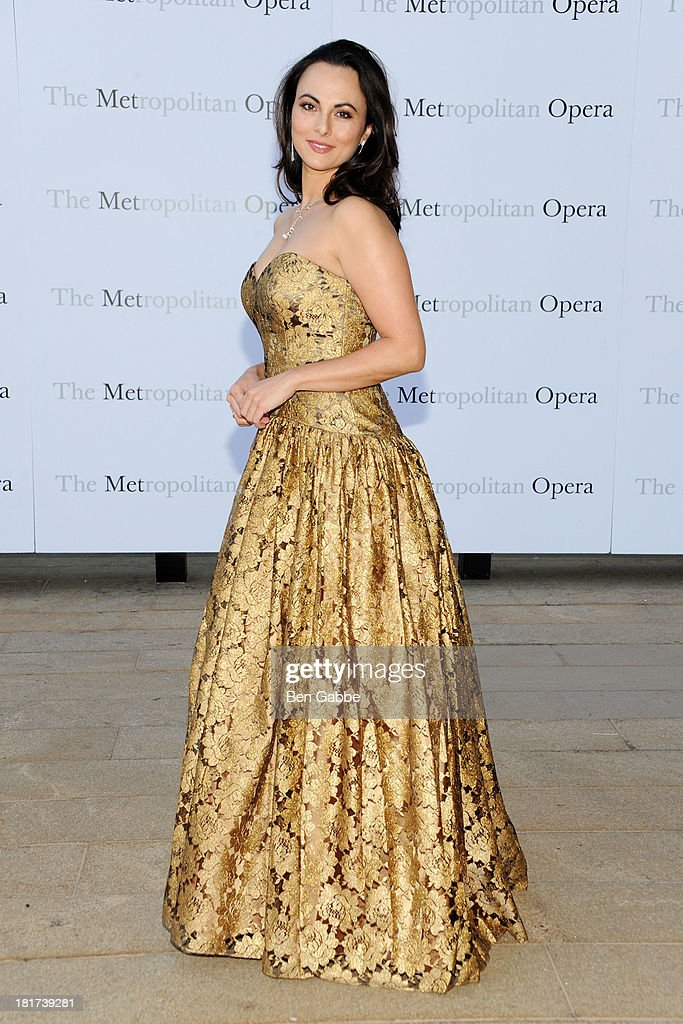 Opera singer <a gi-track='captionPersonalityLinkClicked' href=/galleries/search?phrase=Isabel+Leonard&family=editorial&specificpeople=6072501 ng-click='$event.stopPropagation()'>Isabel Leonard</a> attends the Metropolitan Opera Season Opening Production Of 'Eugene Onegin' at The Metropolitan Opera House on September 23, 2013 in New York City.