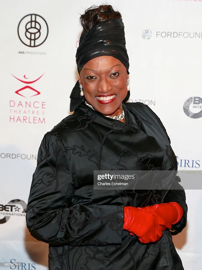 Opera singer Jessye Norman arrives at the Dance Theatre Of Harlem 44th Anniversary Celebration at the Mandarin Oriental Hotel on February 26, 2013 in New York City.