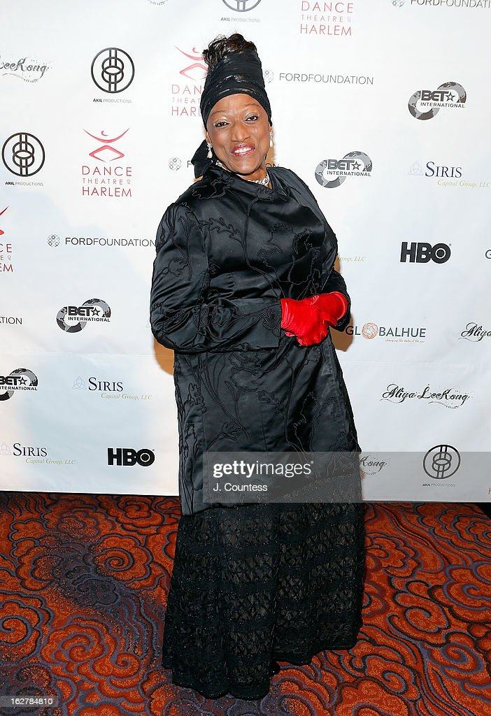 Opera singer Jessye Norman attends the Dance Theatre Of Harlem's 44th Anniversary Celebration at Mandarin Oriental Hotel on February 26, 2013 in New York City.