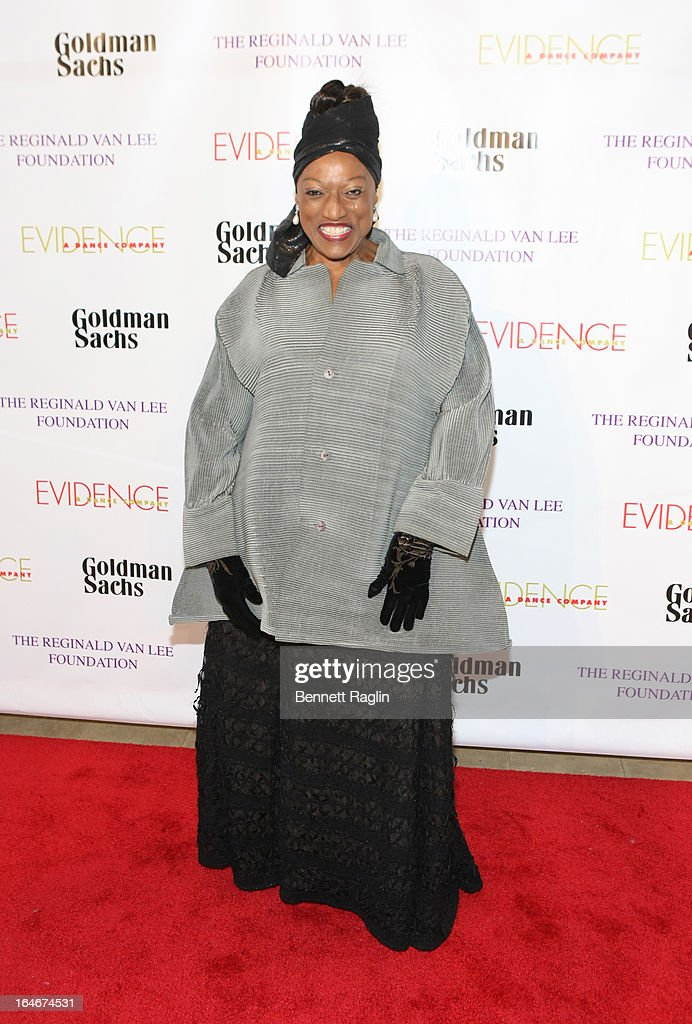 Opera Singer <a gi-track='captionPersonalityLinkClicked' href=/galleries/search?phrase=Jessye+Norman&family=editorial&specificpeople=239491 ng-click='$event.stopPropagation()'>Jessye Norman</a> attends the Evidence, A Dance Company 9th annual Torch Ball at The Plaza Hotel on March 25, 2013 in New York City.