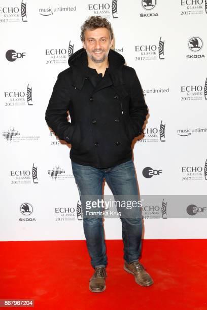 Opera singer Jonas Kaufmann attends the ECHO Klassik 2017 at Elbphilharmonie on October 29 2017 in Hamburg Germany