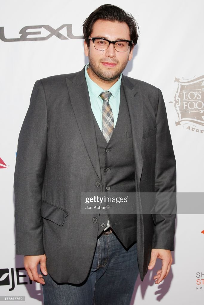 Opera singer Josh Guerrero attends the 2013 Los Angeles Food & Wine Festival 'Festa Italiana With Giada De Laurentiis' Opening Night Gala on August 22, 2013 in Los Angeles, California.
