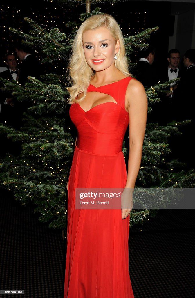 Opera singer <a gi-track='captionPersonalityLinkClicked' href=/galleries/search?phrase=Katherine+Jenkins&family=editorial&specificpeople=204776 ng-click='$event.stopPropagation()'>Katherine Jenkins</a> switches on the St James' Church Christmas Lights on Jermyn Street on November 20, 2012 in London, England.
