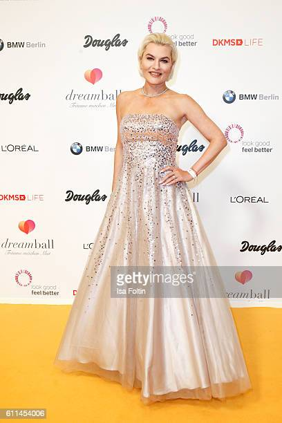 Opera singer Kriemhild Siegel attend the Dreamball 2016 at Ritz Carlton on September 29 2016 in Berlin Germany