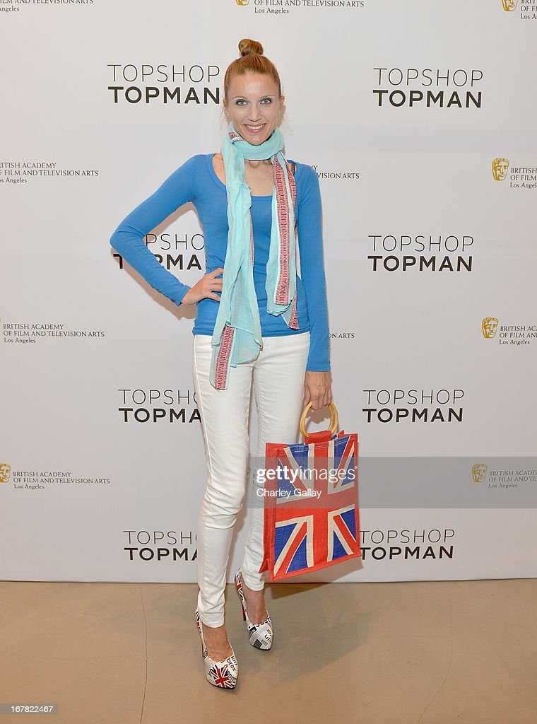 Opera singer Summer Watson attends BAFTA Los Angeles and Sir Philip Green Celebrate the British New Wave at Topshop Topman at The Grove on April 30, 2013 in Los Angeles, California.