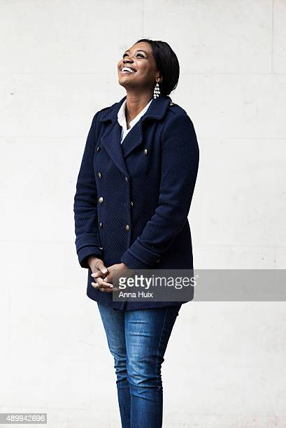 Operatic soprano Angel Blue is photographed for the Financial Times on May 15 2015 in London England